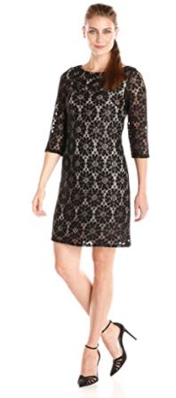 All Over Lace Shift Dress