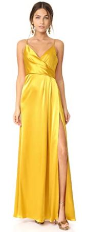 woman-satin-wrap-slip-dress