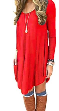 Plus Size Open Back Rhinestone Trimmed Tunic Dress
