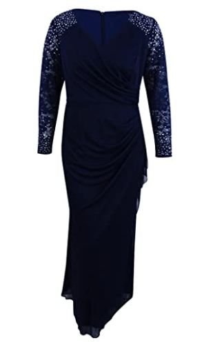 Plus Size Women's Long Evening Gown
