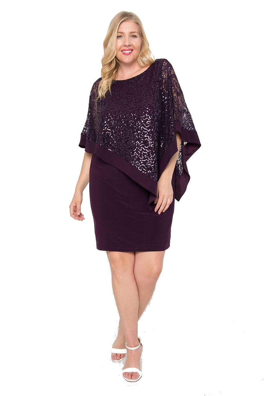 R&M Richards Mother of The Bride Plus Size Dress